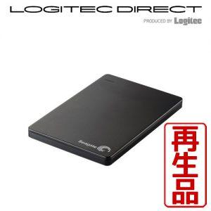 【アウトレット】 USB3.0 500GB 外付HDD Seagate シーゲイト ポータブルハードディスク SGP-BP005UBK 2,980円