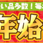 【日替わり!】ツクモオンライン 年末年始セールを開催中!