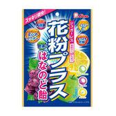 【8時から】ライオン菓子 花粉プラス袋はなのど飴 70g 1袋あたり19円など!【送料無料】