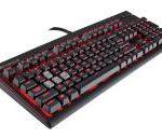 【値下げ】 赤軸 メカニカルキーボード Corsair Gaming STRAFE MX Red SF2 超特価8,991円 送料無料