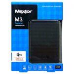 ★クーポンで800円割引!MAXTOR 2.5インチ USB3.0ポータブルHDD 4TB ブラック HX-M401TCB/GMが送料無料15,180円!