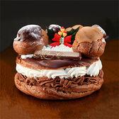 (1セット670円) クリスマスケーキ チョコパリブレスト 4セット 2,680円 送料無料 【サンプル百貨店】