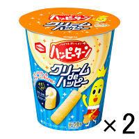 ハッピーターンクリームdeハッピー1セット(33g×2個) 128円 など【LOHACO・ロハコ】