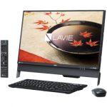 「PC-DA370FAB」 Celeron 3855U搭載のテレビ対応23.8型LAVIE Deskが2色で特価販売中