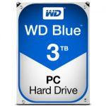 ★クーポンで800円割引!WD Blue 3.5インチ内蔵HDD 3TB SATA3(6Gb/s) 5400rpm 64MB WD30EZRZ-RTが送料無料7,480円!