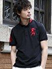 【今日だけ】(ジョルダーノ)GIORDANO 3Dライオン刺繍ポロシャツが激安特価!