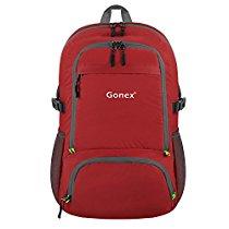 【特価】 Gonex 超軽量リュックサック 折りたたみ可能 30L 各色 1,584円【ファッション】