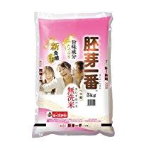 【訳あり特価】精米 無洗米つや姫 食物繊維が生きてるお米 胚芽一番 5kg 平成28年産 1,485円【食品・飲料】