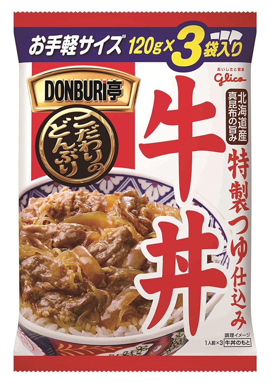 江崎グリコ DONBRI亭 3食パック