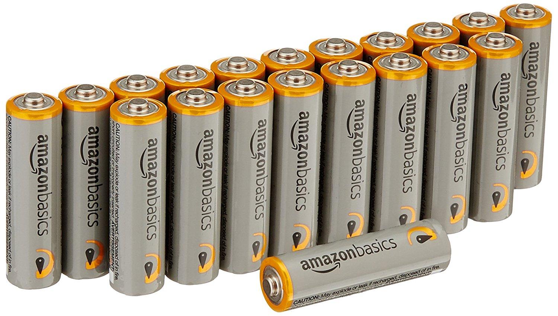 Amazonベーシック アルカリ乾電池 単3形 20個パック